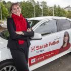 Sarah Pallett. Photo: Geoff Sloan