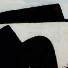 The new owner does not have a McCahon - he or she has a defaced John Z Robinson. Photo: Supplied