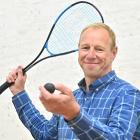 New Squash New Zealand chief executive Martin Dowson at the Squash Otago courts yesterday. PHOTO:...
