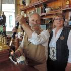 Criterion Hotel new lessees Herbert and Marise Martin reopened the establishment in Oamaru...