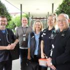 Looking forward to next Saturday's Oamaru Hospital open day are (from left) Waitaki District...