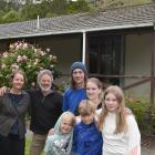 Annabel and Martin Rutherford (left) have lent a home to Josh Moffitt and Alice Hudson and their...