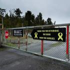 The road leading to the Pike River Mine where 29 men were killed in the November 19, 2010,...