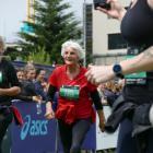 The oldest competitor in the event was half-marathon entrant Clasina Van der Veeken (89), of...