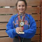 Mornington-Roslyn Tennis Club member Erin O'Neill won the under-16 doubles section at the...