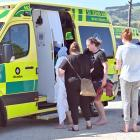 Three patients were taken by ambulance to Dunedin Hospital after striking trouble at Tomahawk...