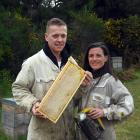 Dana and Megan Young are passionate about creating new food products from their honey. PHOTOS:...