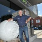 Design and Garden Landscapes director Wayne Butson outside his St Andrew St office in Dunedin....