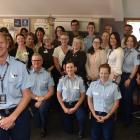 Whangaia Nga Pa Harakeke programme manager Senior Sergeant Craig Dinnissen celebrates the...