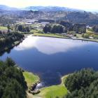 Dunedin's Southern Reservoir is stocked with rainbow trout. PHOTO: STEPHEN JAQUIERY