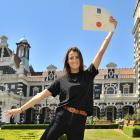 Dunedin woman Ali Cooper graduated from Otago Polytechnic School of Nursing on Friday and landed...