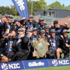 Christchurch Boys' High School have won the Gillette Cup, symbol of New Zealand secondary school...