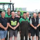 Southland Farm Machinery staff have been growing moustaches in support of their colleague Cameron...