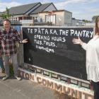 Christine Blance, Nick Te Paa and Bronwyn Saunders. Photo: Geoff Sloan