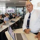 Career-long teacher Steve Garland ends his 42-year long tenure at Shirley Boys' High School this...