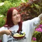 Jade O'Connell (19), who creates online content such as her ''Baking with Tourette's'' videos, ...