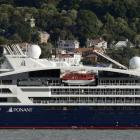 When Le Laperouse visited Dunedin in 2019 (pictured) it marked the first time 100 cruise ships...