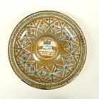 Italian maiolica lustred salver, circa 1520. PHOTO: OTAGO MUSEUM