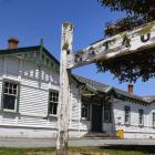 The Mataura railway station, which could be relocated within Mataura, if a consent is granted....