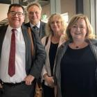 n Invercargill yesterday are (from left) Deputy Prime ...