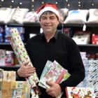 Golden Centre Paper Plus owner John Brenssell said his store had been very busy. PHOTO: PETER...