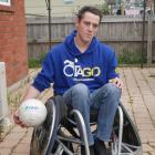 Wheelchair rugby player Dillon Maydon has been playing for three years and hopes to grow the...