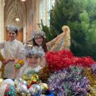 Christmas angels (from left) Theodora Clarke-Wallace (11), Charlotte Tallon-McCarthy (6), and...