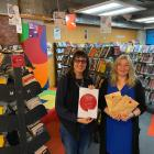 Dunedin City Library manager Kathy Aloniu (right) and library youth services supervisor Lynn Vare...
