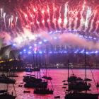 A public fireworks display is a traditional part of New Year's celebrations in Sydney. File photo...