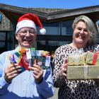 Rotary Club of Taieri youth committee chairman Trevor Millar and member Susan Wyngaarden-Low are...