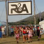 Just like last year, there will be no drug-testing at the Rhythm & Alps festival at the end...