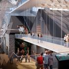 Concept designs of the proposed museum redevelopment. Photo: Canterbury Museum