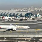 Emirates airliners on the tarmac at Dubai International Airport. Photo: Reuters
