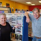 United Video's Lynn Arthur and owner Kevin Stewart will be in store until the final curtain comes...