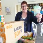 Lawrence-Tuapeka Combined Church Foodbank joint co-ordinator Stephanie Swann says the...
