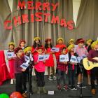 Christmas carols by the children