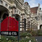Cobb & Co managing director Ben Gower (inset) is confident the Dunedin Railway Station...