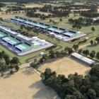 An artist's impression of a proposed cloud-computing data centre ...