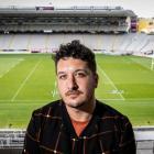 Six60 lead singer Matiu Walters at Eden Park. Photo: NZ Herald