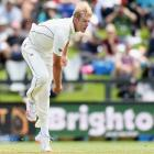 Kyle Jamieson picked up his third 5-wicket-bag in just his sixth test. Photo: Getty Images