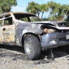 A torched vehicle was found beside the Wallacetown-Riverton stretch of State Highway 99 early...