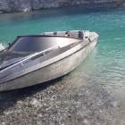 This jet boat was stolen from the side of the road. Photo: Supplied