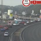 The two vehicles collided on the Wellington Urban motorway. Image / NZTA