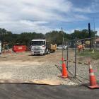 Construction has begun on Taco Bell Christchurch. Photo: Eastgate Shopping Centre