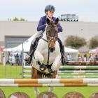 Chloe McKenzie  competes at the South Otago A&P Show in November on Shianne.   PHOTO: KERRI...