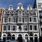 The refurbished facade of boutique hotel Fable Dunedin, in Princes St.
