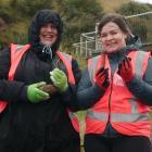 Teachers Cassandra Kitt (left), of Kaikoura High School, and Jess Dewhurst, of Aotea College in...