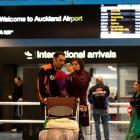 Arrivals haven't walked straight through Auckland International Airport since last April. Photo:...