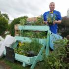 Mosgiel resident Rosanne Dee sells affordable, home-grown flowers and produce outside her home in...