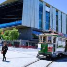 Turanga, Christchurch's central library, is an 'anchor' project in Cathedral Square. Photo:...